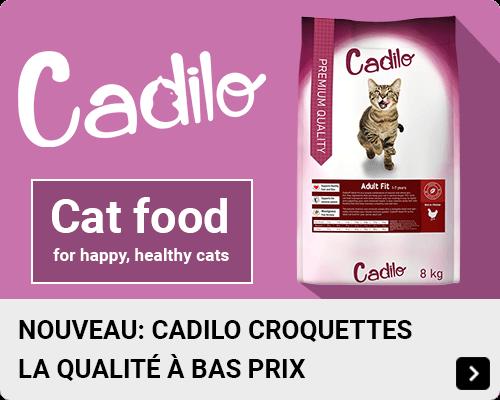 Cadilo croquettes pour chat