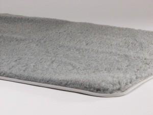 Plaid solide gris pour chien