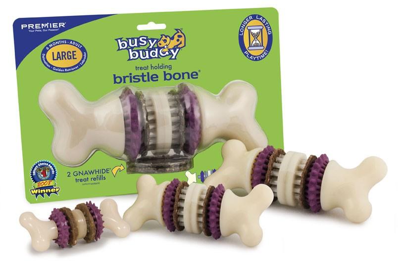 Busy Buddy Bristle Bone voor de hond