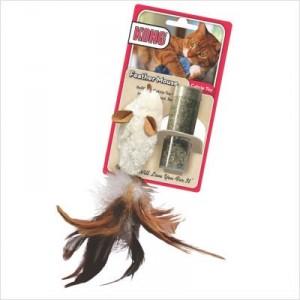 Kong Feather Souris pour Chats