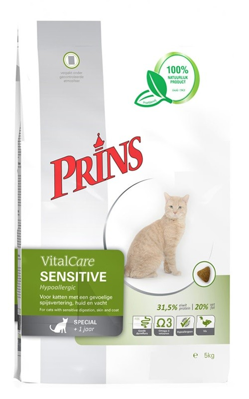 Prins VitalCare Sensitive Hypoallergenic pour chat