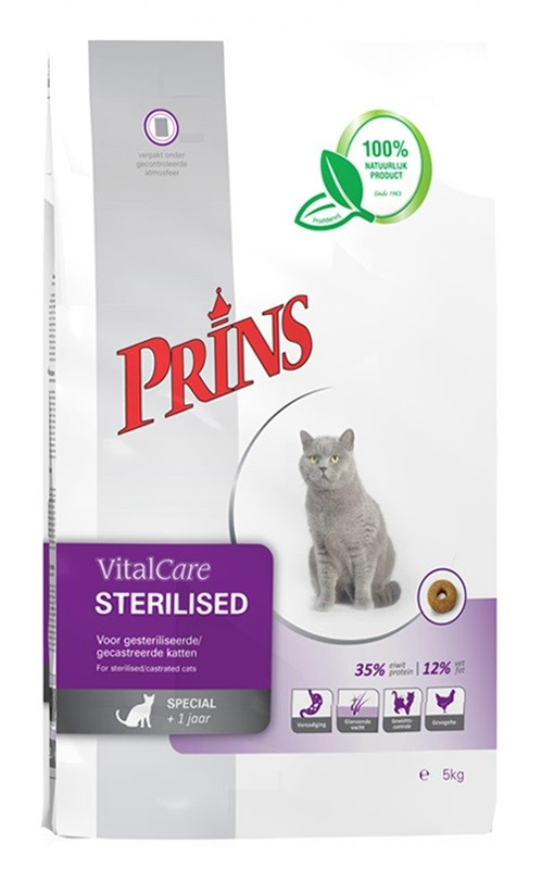 Prins VitalCare Sterilised pour chat