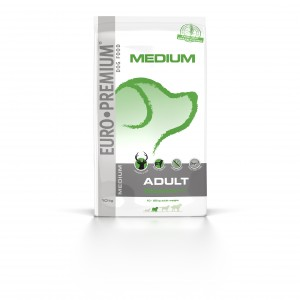 Euro Premium Medium Adult Digestion+ Cerf & Riz pour Chien 2,5 kg