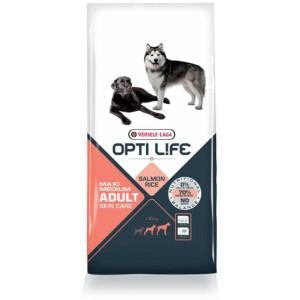 Opti Life Chien Adulte Peau Sensible Medium/Maxi, saumon et riz