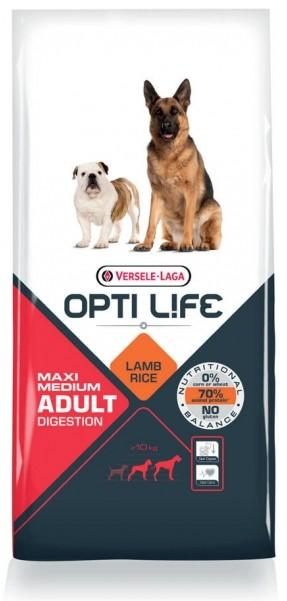 Opti Life Chien Adulte Digestion Medium/Maxi