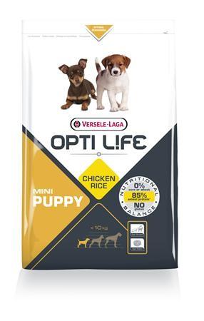 Opti Life Chiot Puppy Mini, Poulet et Riz