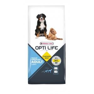 Opti Life Chien Adulte Light Medium/Maxi, Poulet & Riz