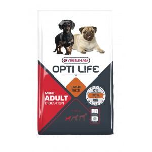 Opti Life Chien Mini Adulte Digestion, Agneau & Riz