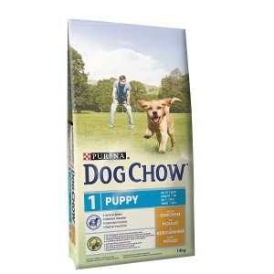 Dog Chow Puppy Chiot Poulet