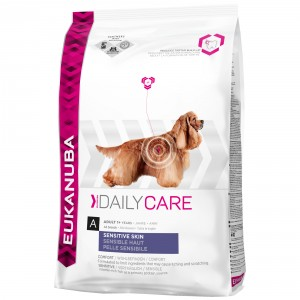 Eukanuba Daily Care Adult Sensitive skin pour chien