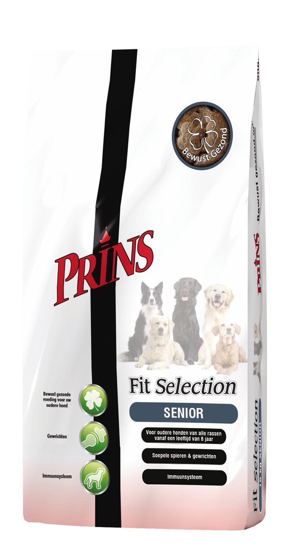 Prins Fit Selection Senior pour chien