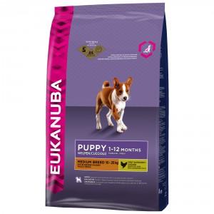 Eukanuba Chiot Puppy Moyenne Race