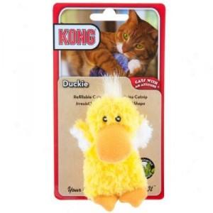 Kong Catnip Toy Duckie