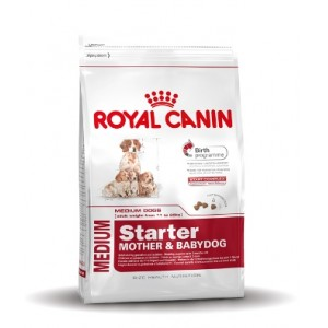 Royal Canin Chiot Medium Starter Mother and Babydog