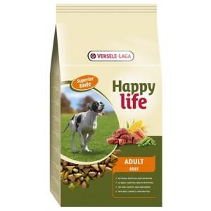 Happy Life Adult Boeuf pour chien