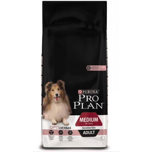 croquettes pro plan peau sensible chien moyen. Black Bedroom Furniture Sets. Home Design Ideas