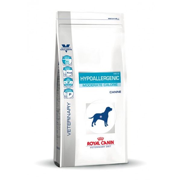 royal canin hypoallergenic moderate calorie pour chien impersensible. Black Bedroom Furniture Sets. Home Design Ideas