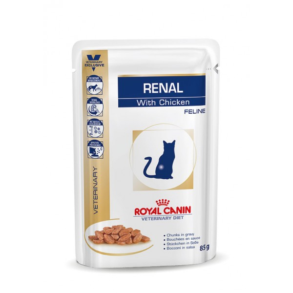 royal canin renal sachets poulet pour chat. Black Bedroom Furniture Sets. Home Design Ideas