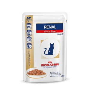 royal canin renal sacs boeuf pour chat. Black Bedroom Furniture Sets. Home Design Ideas