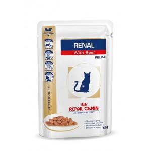Royal Canin Renal Sachets Boeuf pour Chat