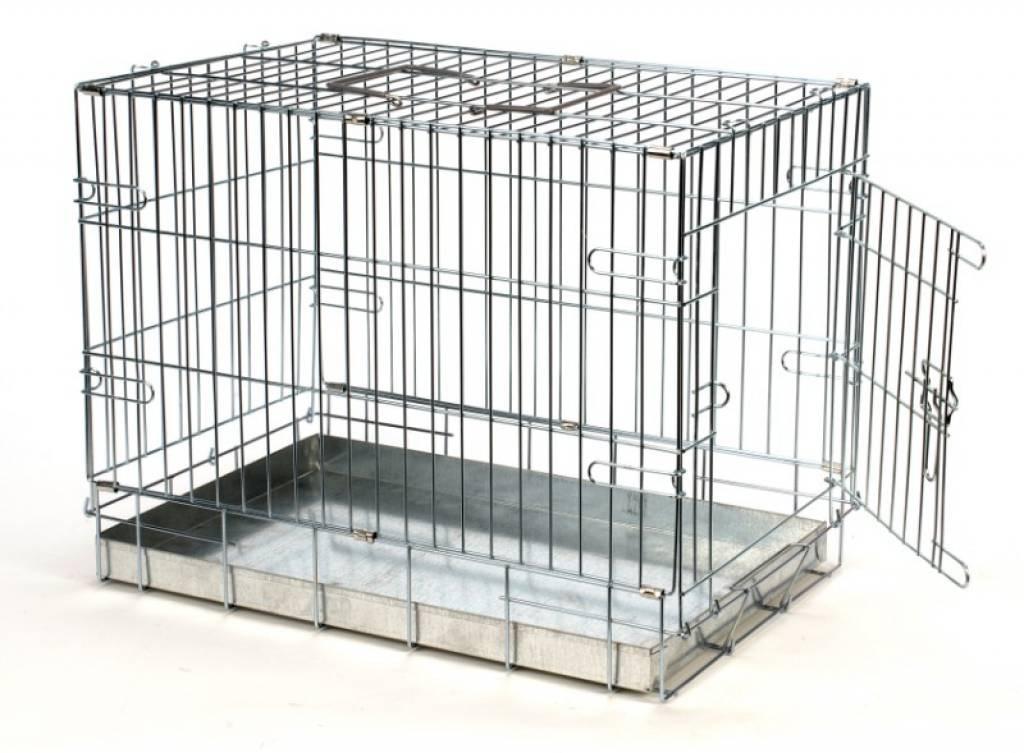 Caisse de transport 49 x 36 x 40 cm pour chien