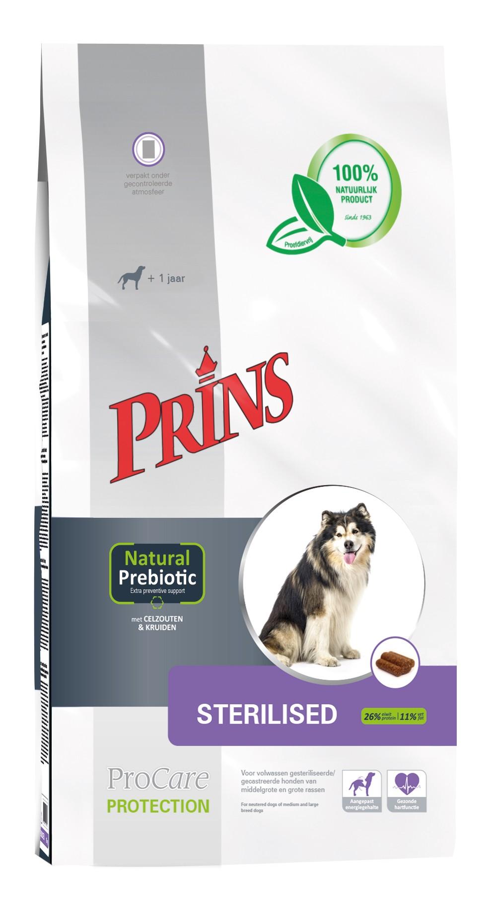 Prins ProCare Protection Sterilised pour chien