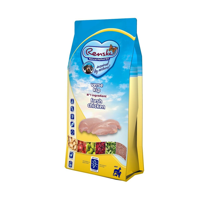 Renske Super Premium Adult Sans Céréales Poulet Frais pour chien