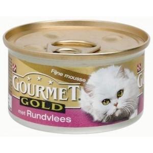 Gourmet Gold Chat Mousse de Boeuf
