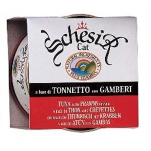 Schesir Chat - Thon & crevettes nr.138