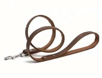 Laisse brune pour chien 130 cm