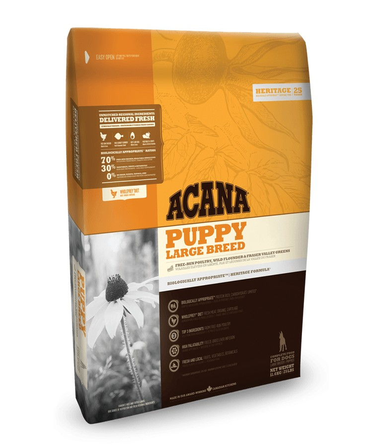 Acana Heritage Puppy Large Breed pour chiot