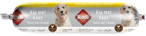 Saucisse Rodi Poulet/Fromage pour Chiens