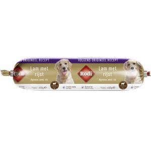 Saucisse Rodi à l'agneau et riz pour chien