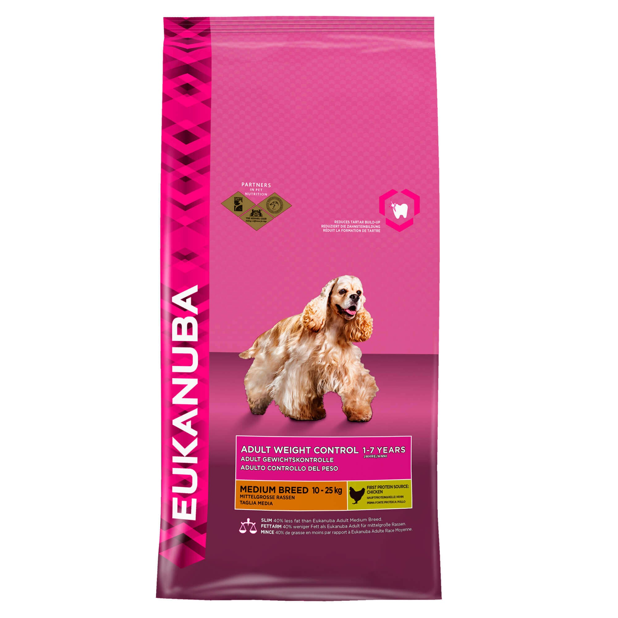 Eukanuba Adult Weight Control Medium Breed pour chien
