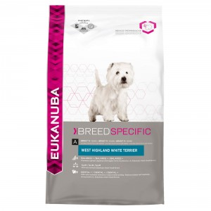 Eukanuba Breed Specific West Highland White Terrier pour chien