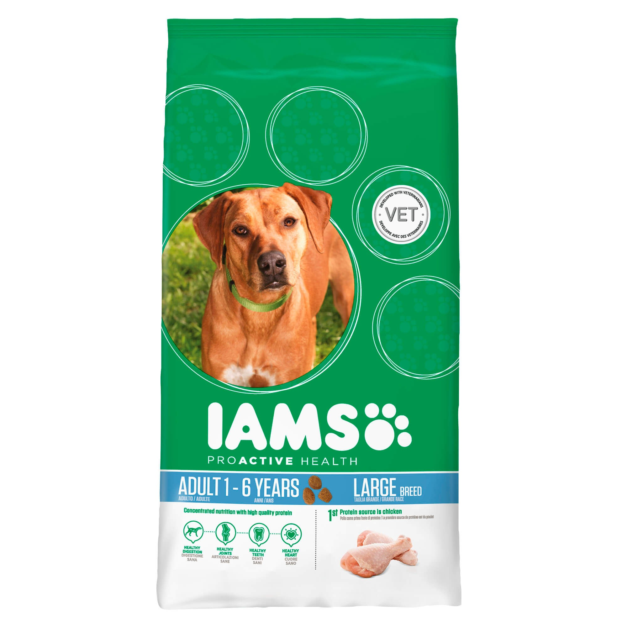 Iams Adult Large Breed, pour Chien