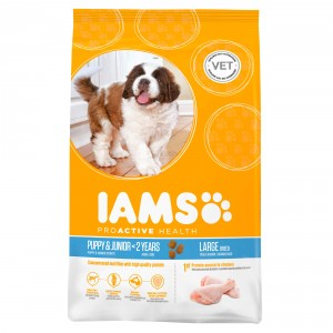 Iams Chiot Puppy & Junior Large Breed