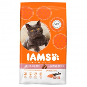 Iams Chat - Adult au Saumon