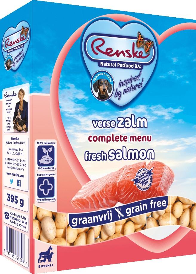 Renske Sans Céréales Saumon pour chien