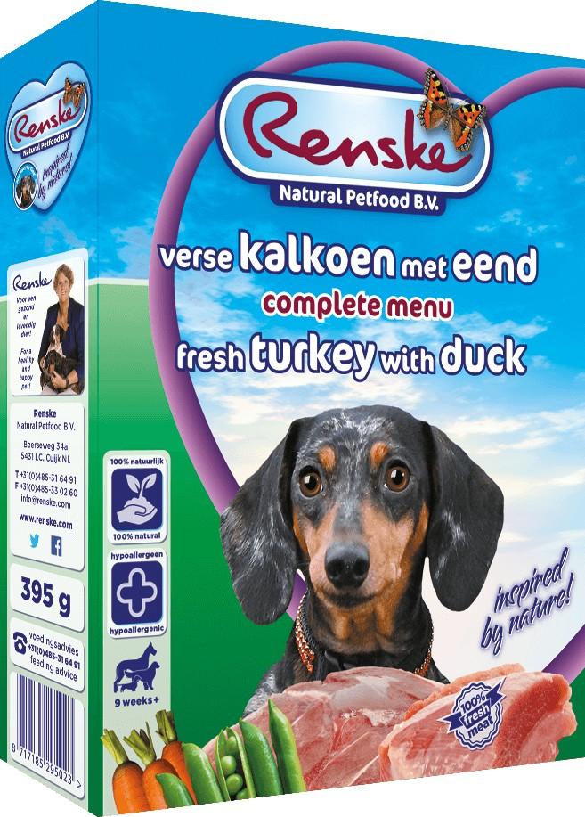 Renske Dinde & Canard Frais pour chien