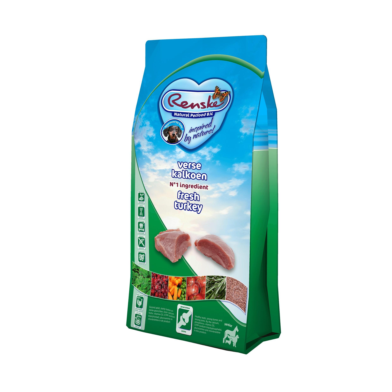 Renske Super Premium Senior Sans Céréales Dinde pour chien