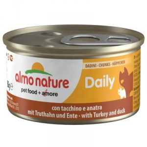 Almo Nature Daily Collation Dinde Canard 85g (150)
