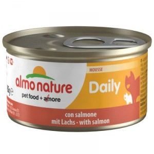 Almo Nature Daily Mousse Saumon 85g (158)