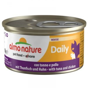 Almo Nature Daily Mousse Thon Poulet 85g (148)