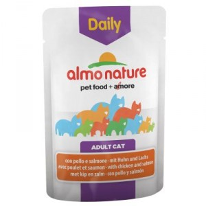 Almo Nature Daily Poulet Saumon 70g (5270)
