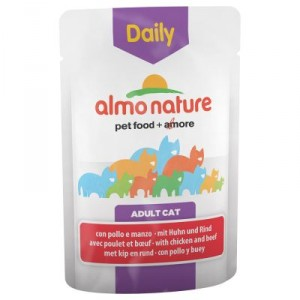 Almo Nature Daily Boeuf Poulet 70g (5271)