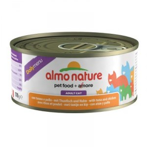 Almo Nature Daily Thon Poulet 170g (5301)