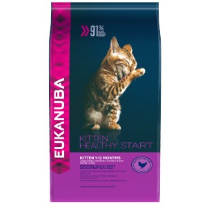 Eukanuba Kitten Healthy Start pour chaton