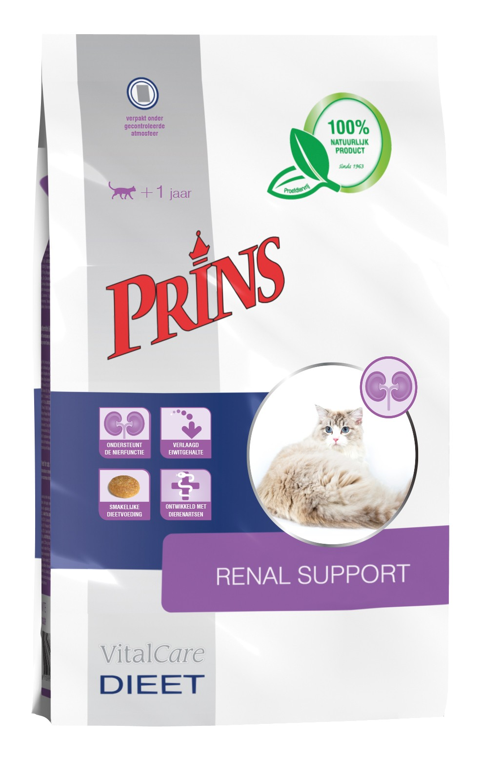 Prins Vitalcare Diet Renal Support pour chat