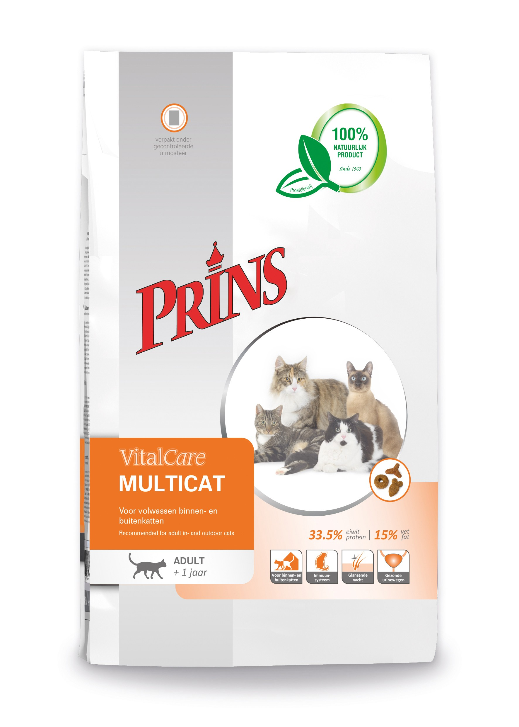 Prins Vitalcare Multicat Adulte Chat